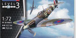 Spitfire Mk.IIa im Maßstab 1:72 von Revell ( # 03953 )