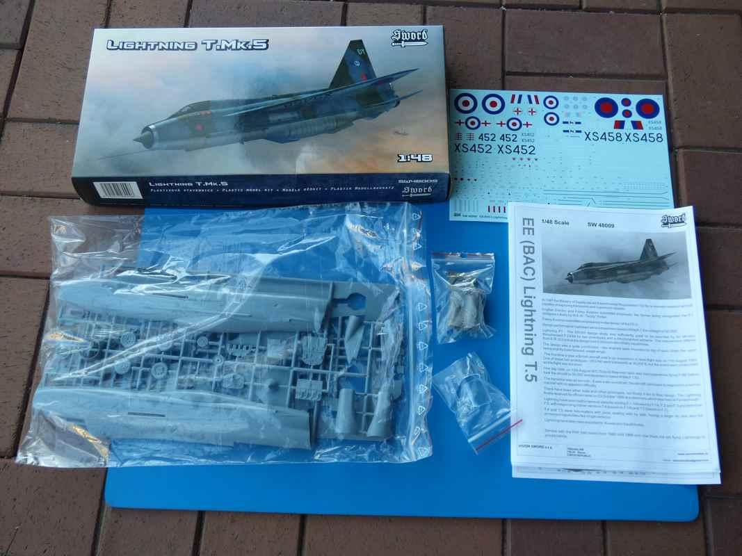 SWORD-SW-48009-BAE-Lightning-T.Mk-14 Lightning T.Mk.5 von SWORD in 1:48