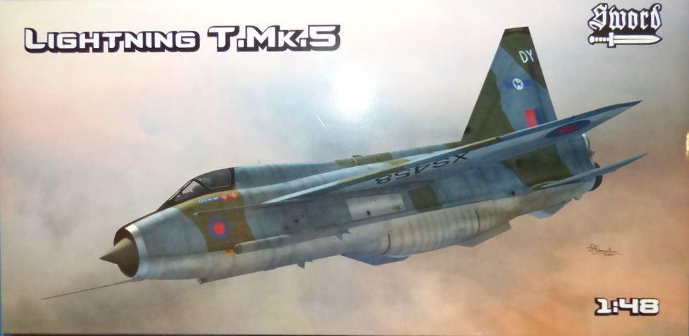 SWORD-SW-48009-BAE-Lightning-T.Mk_.5 Lightning T.Mk.5 von SWORD in 1:48