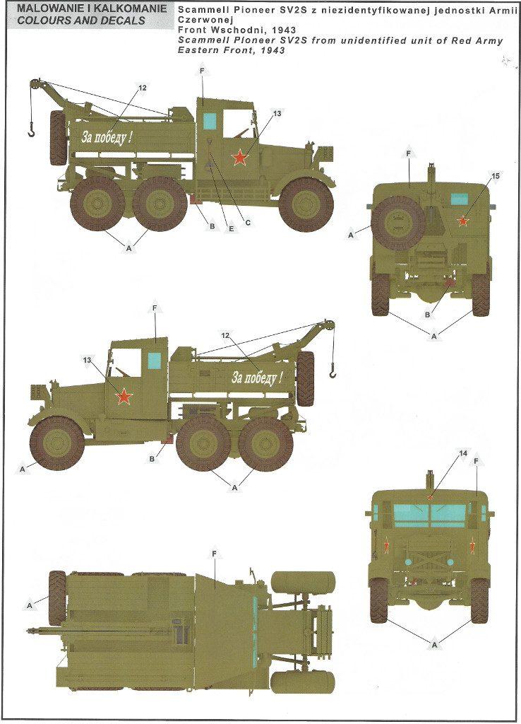 17-738x1024 Scammell Pioneer SV2S Heavy Breakdown Tractor IBG Models 1:35 (#35029)