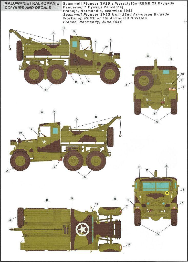 18-734x1024 Scammell Pioneer SV2S Heavy Breakdown Tractor IBG Models 1:35 (#35029)