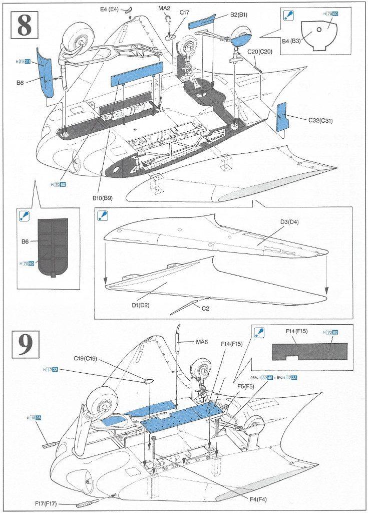 5-735x1024 Horten Ho229A-1 Flying Wing 1:48 Dragon (#5505)