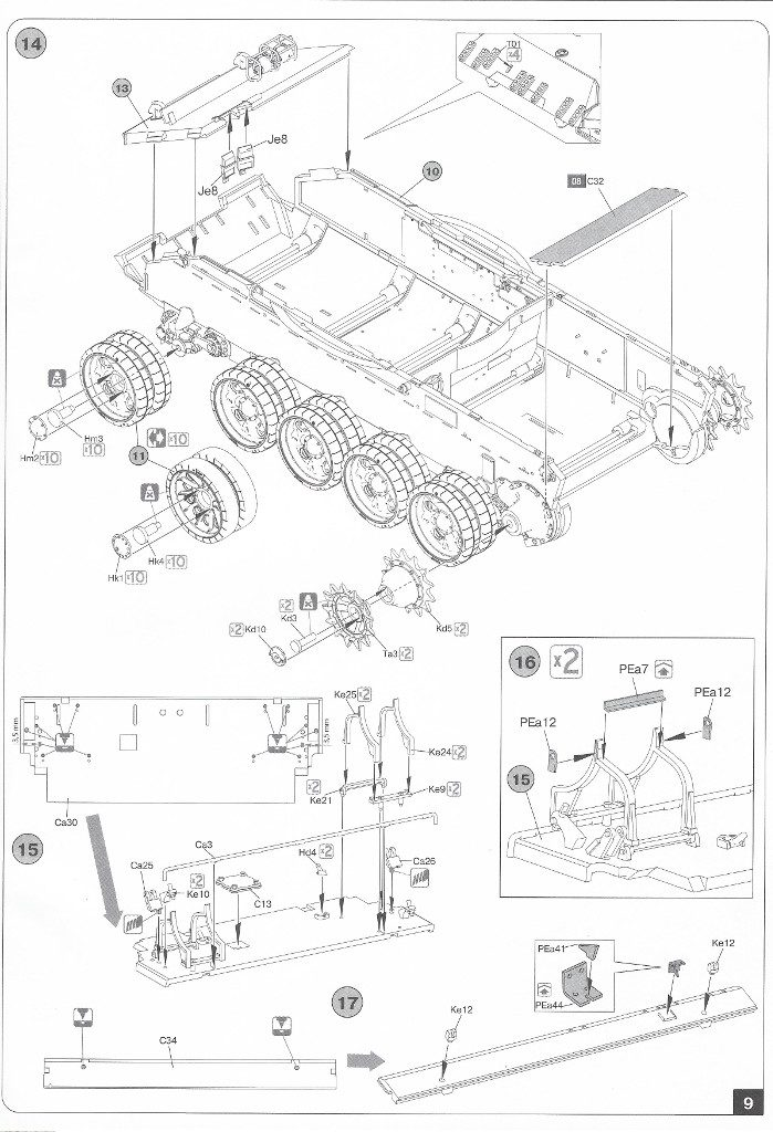Anleitung-09-699x1024 T-54B Early Production Miniart 1:35 (#37019)