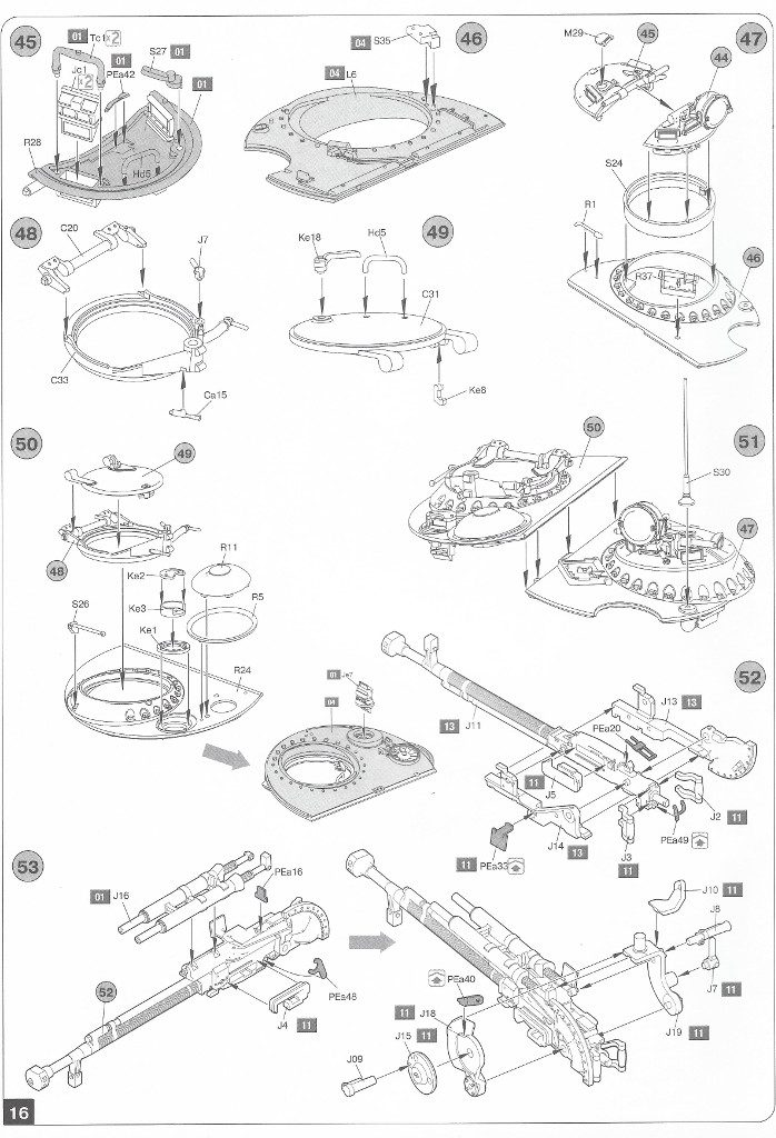 Anleitung-16-698x1024 T-54B Early Production Miniart 1:35 (#37019)