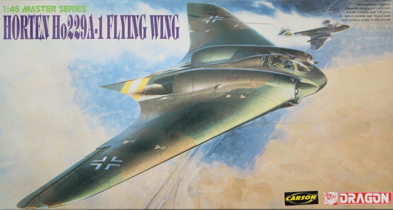 Box-800-1 Horten Ho229A-1 Flying Wing 1:48 Dragon (#5505)