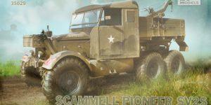 Scammell Pioneer SV2S Heavy Breakdown Tractor IBG Models 1:35 (#35029)