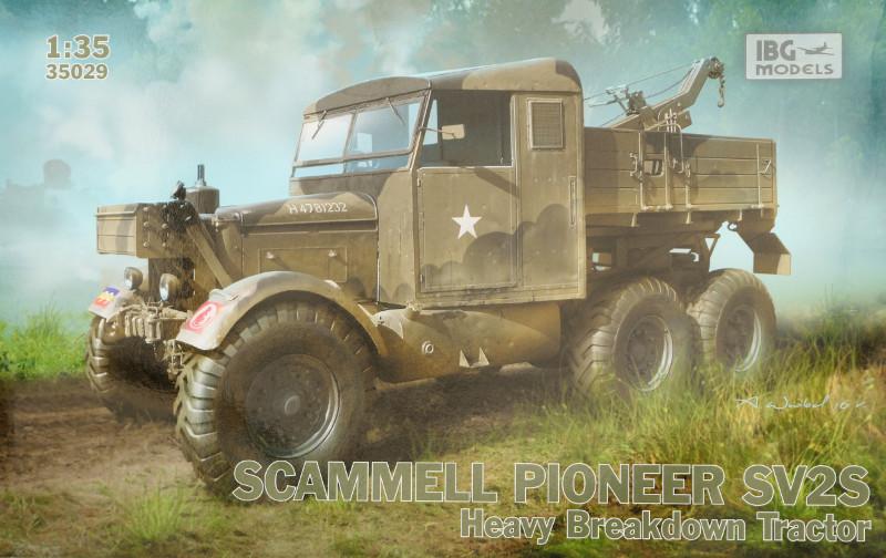 Box-800 Scammell Pioneer SV2S Heavy Breakdown Tractor IBG Models 1:35 (#35029)