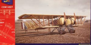 Caudron G.IV Late – Copper State Models 1/48  —  #CSM 1027