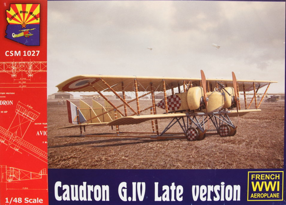 Caudron_G.IV_Late_01 Caudron G.IV Late - Copper State Models 1/48  ---  #CSM 1027