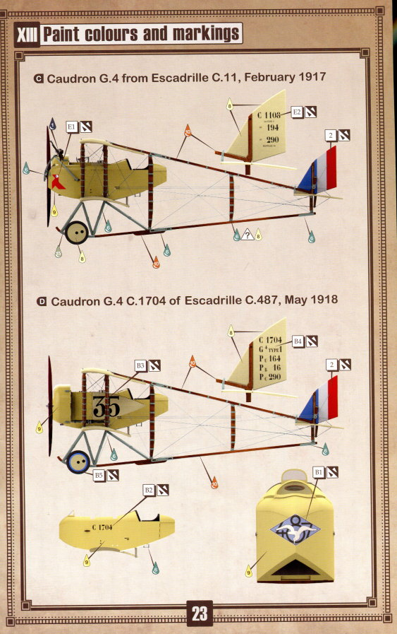 Caudron_G.IV_Late_60 Caudron G.IV Late - Copper State Models 1/48  ---  #CSM 1027