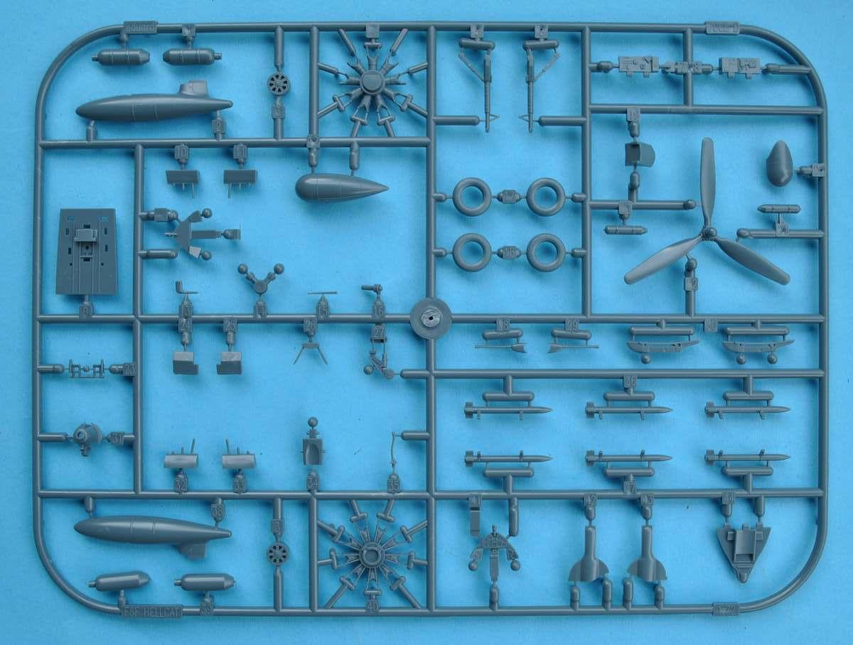 Eduard-7441-F6F-3-12 F5F-3 Hellcat WEEKEND von Eduard 1:72 #7441