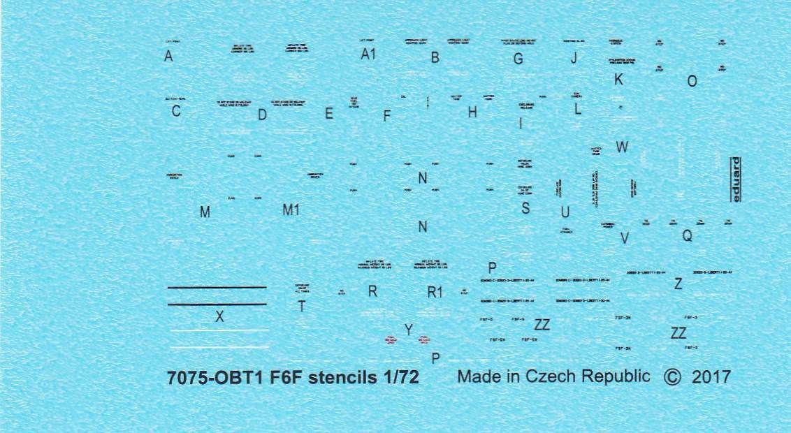 Eduard-7441-F6F-3-7 F5F-3 Hellcat WEEKEND von Eduard 1:72 #7441