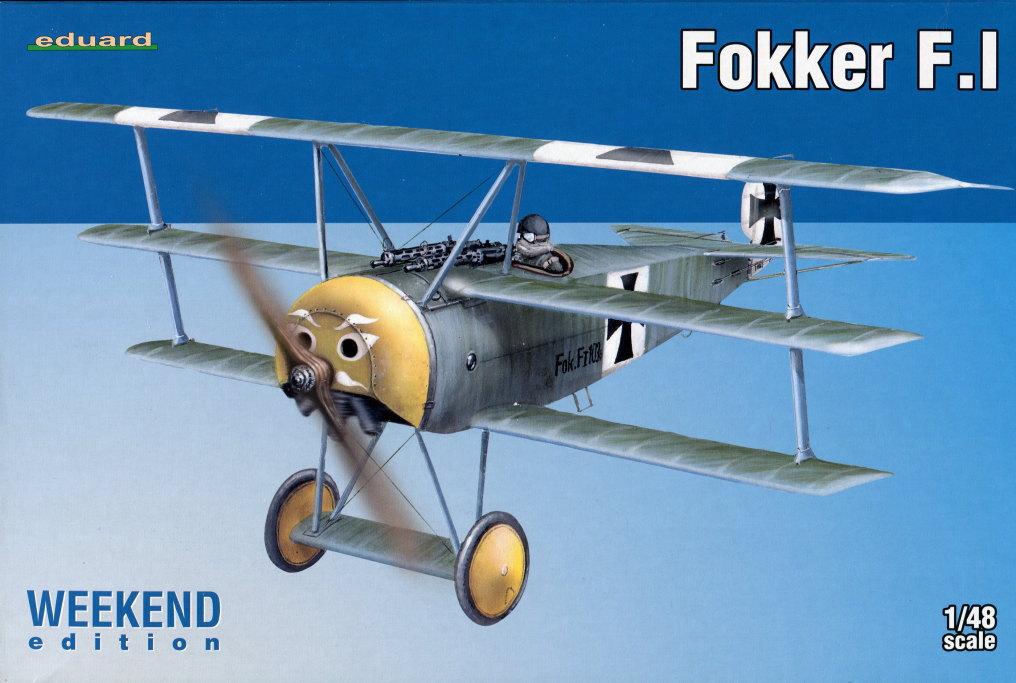 Eduard_Fokker_F.1_15 Fokker F.1 - Eduard WEEKEND  1/48 --- #8493