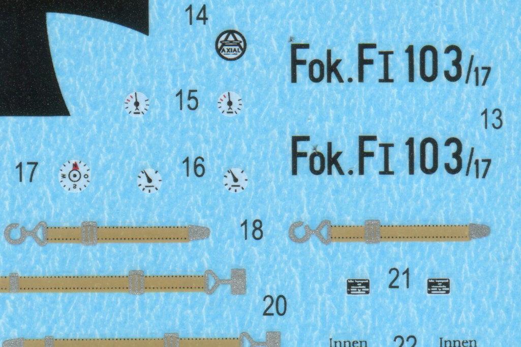 Eduard_Fokker_F.1_17 Fokker F.1 - Eduard WEEKEND  1/48 --- #8493