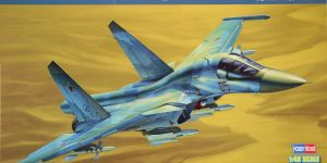 Su-34 Fullback Fighter-Bomber – Hobby Boss 1/48  —  #81756