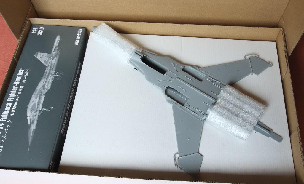 HobbyBoss_Su-34_004 Su-34 Fullback Fighter-Bomber - Hobby Boss 1/48  ---  #81756