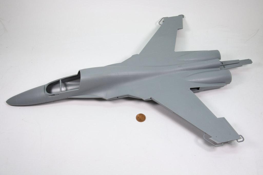 HobbyBoss_Su-34_007 Su-34 Fullback Fighter-Bomber - Hobby Boss 1/48  ---  #81756