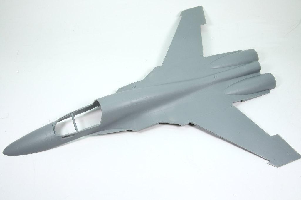 HobbyBoss_Su-34_015 Su-34 Fullback Fighter-Bomber - Hobby Boss 1/48  ---  #81756