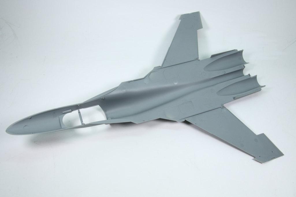 HobbyBoss_Su-34_016 Su-34 Fullback Fighter-Bomber - Hobby Boss 1/48  ---  #81756