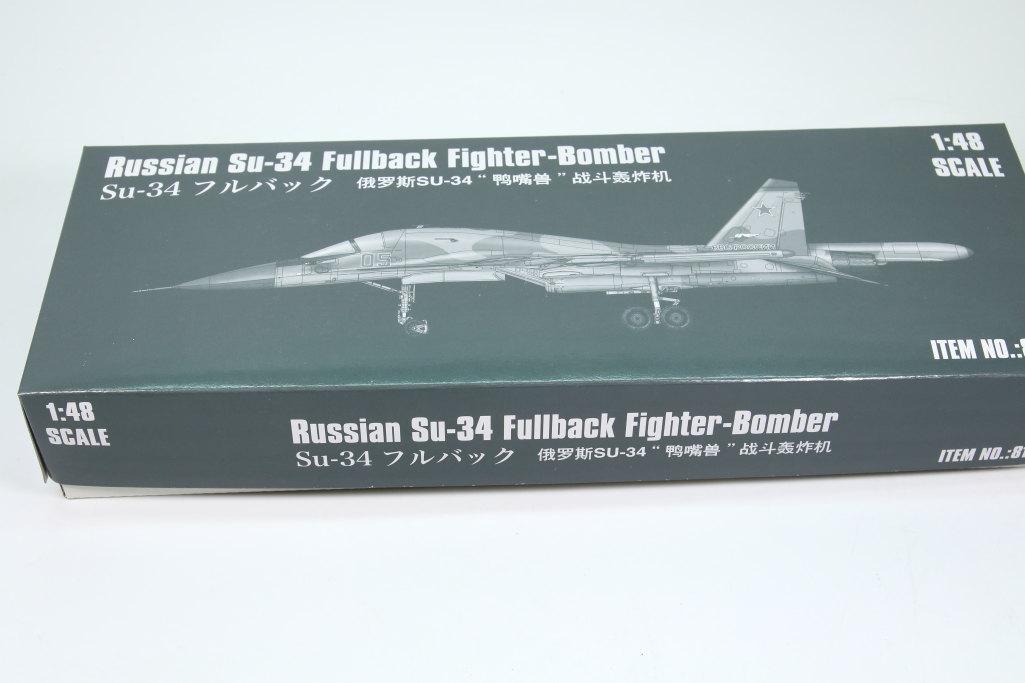 HobbyBoss_Su-34_020 Su-34 Fullback Fighter-Bomber - Hobby Boss 1/48  ---  #81756