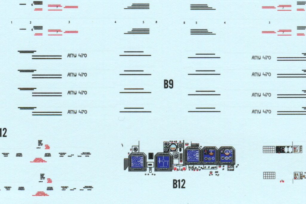 HobbyBoss_Su-34_095 Su-34 Fullback Fighter-Bomber - Hobby Boss 1/48  ---  #81756