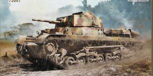 ungarischer Panzer 40M Turan I von IBG in 1:72 (72047)