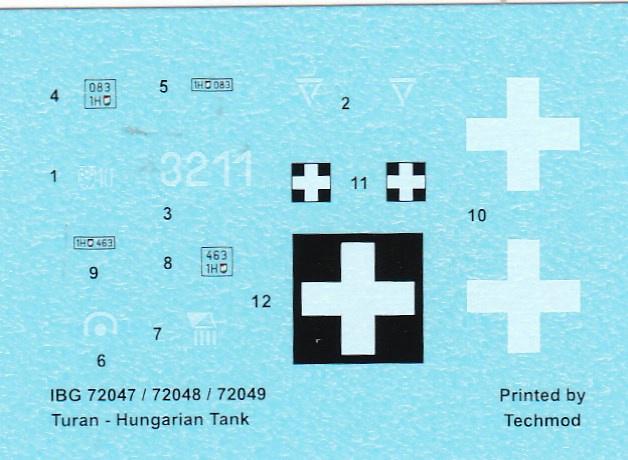 IBG-72047-40M-Turan-I-32 ungarischer Panzer 40M Turan I von IBG in 1:72 (72047)
