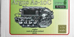 Argus As 10C in 1:72 von Karaya (# E 7209)
