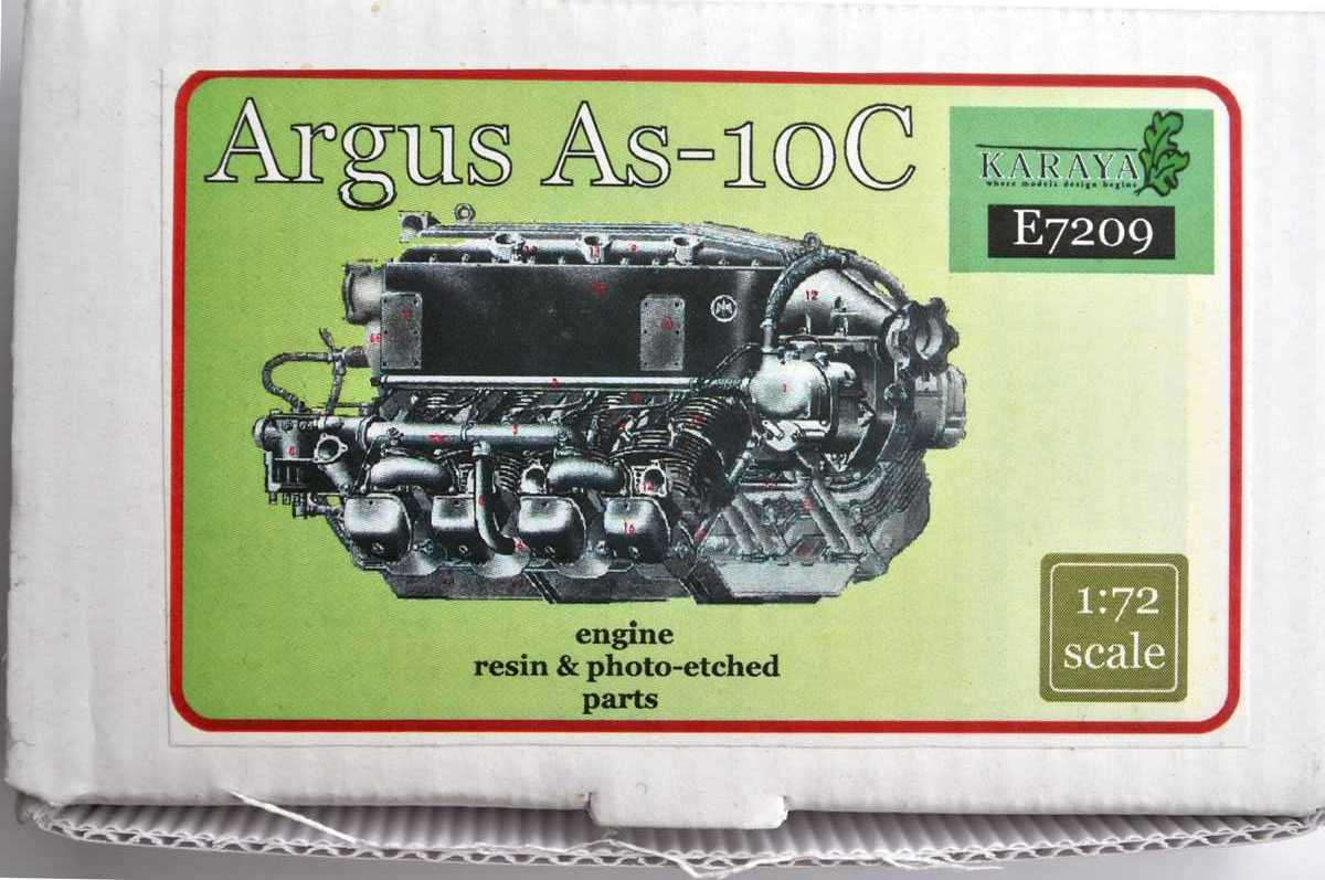 Karaya-E-7209-Argus-As-10C-1 Argus As 10C in 1:72 von Karaya (# E 7209)