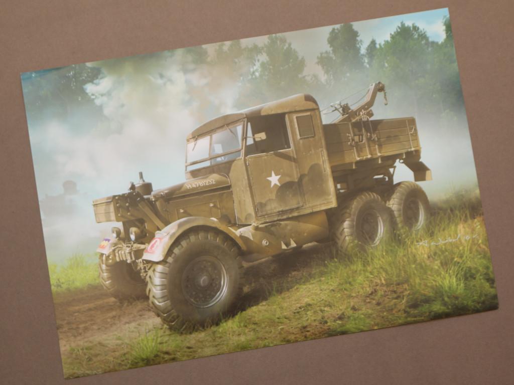 Kunstdruck Scammell Pioneer SV2S Heavy Breakdown Tractor IBG Models 1:35 (#35029)