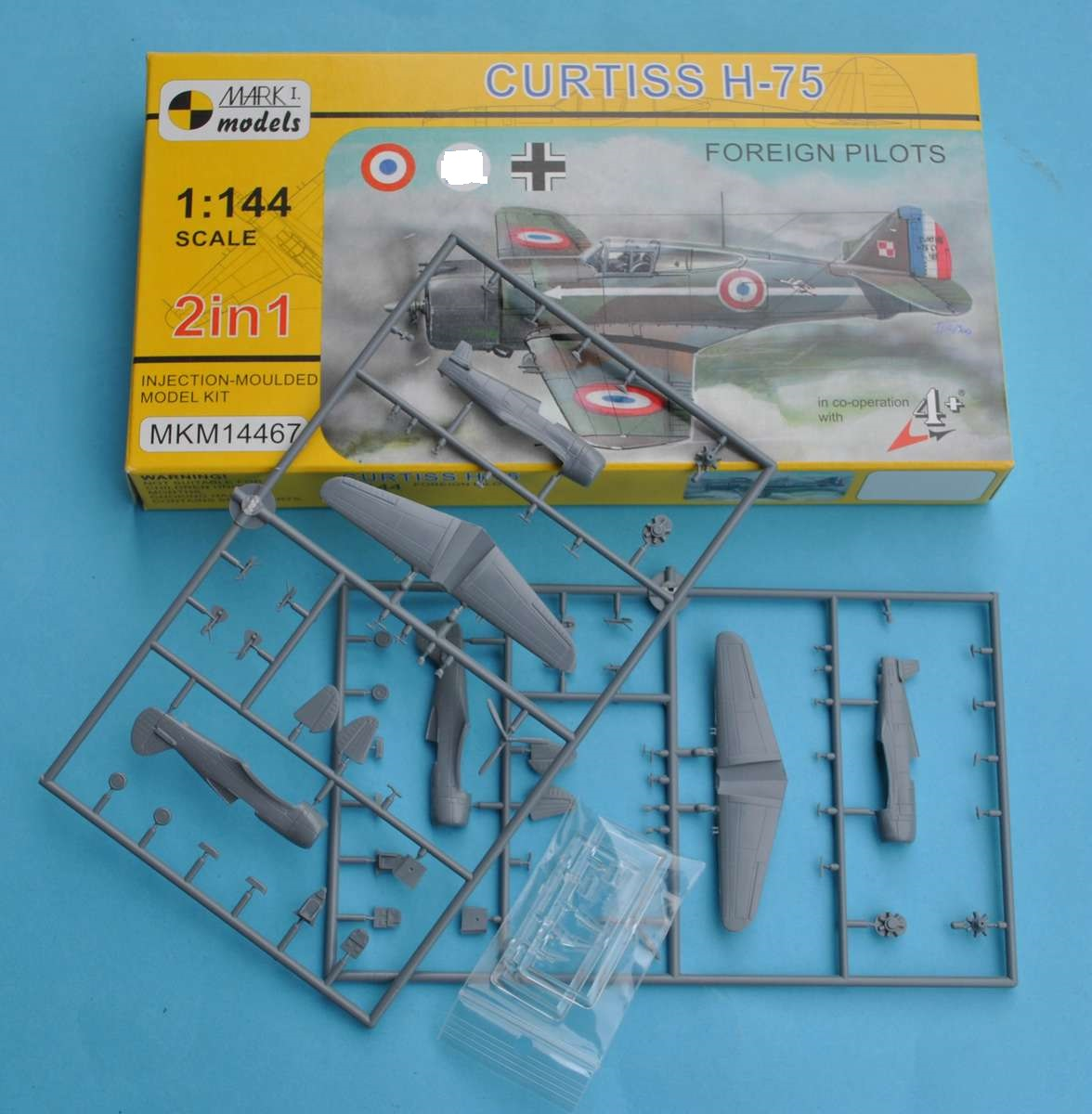 Mark-I-Models-MKM-14467-Curtiss-H-75-Frankreich-Finnland-Luftwaffe-15 Curtiss H-75 in 1:144 von Mark I Models ( MKM 14467)