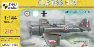 Curtiss H-75 in 1:144 von Mark I Models ( MKM 14467)