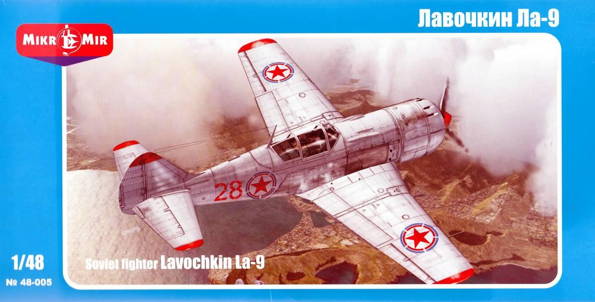 MikroMir-48005-La-9-38 Lawotschkin La-9 von MikroMir 48005