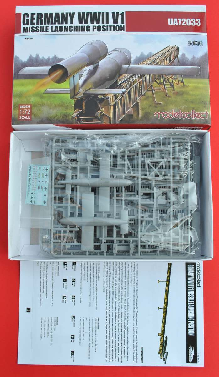 ModelCollect-72033-German-V1-Missile-Launching-Position-2 German V1 missile launching position von ModelCollect (1:72)