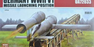 German V1 missile launching position von ModelCollect (1:72)