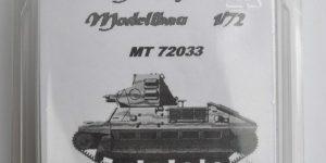 französischer Panzer FCM 36 von ModellTrans 1:72
