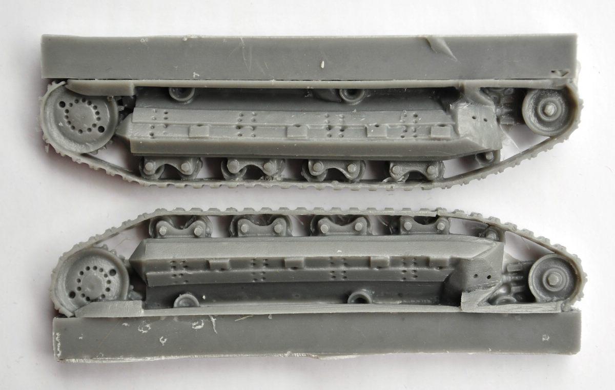 ModellTrans-MT-72033-FCM-36-13 französischer Panzer FCM 36 von ModellTrans 1:72