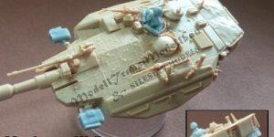 Upgrade-set für den Merkava III von ModellTrans MT 72237