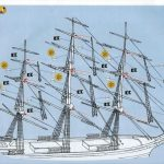 Revell-05422-Teaclipper-Cutty-Sark-19-150x150 Teaclipper Cutty Sark in 1:96 Revell (# 05422)