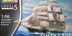 Teaclipper Cutty Sark in 1:96 Revell (# 05422)