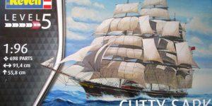 Teaclipper Cutty Sark in 1:96 Revell (# 05422)