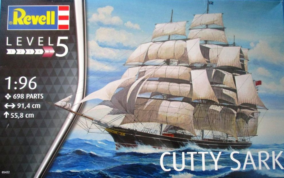 Revell-05422-Teaclipper-Cutty-Sark-31 Teaclipper Cutty Sark in 1:96 Revell (# 05422)