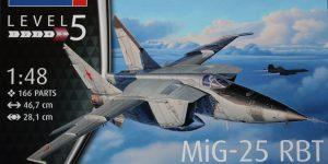 MiG-25 RBT – Revell 1/48  —  #03931