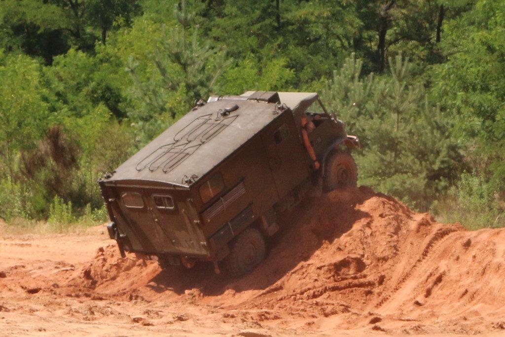 Action2-1024x683 7. Int. Militärfahrzeugtreffen der RAG 6014 vom 06. - 09.07.2017