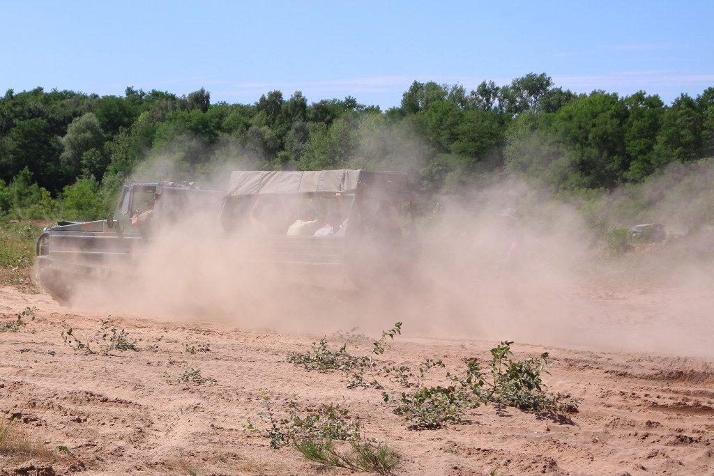 Action4-1024x683 7. Int. Militärfahrzeugtreffen der RAG 6014 vom 06. - 09.07.2017