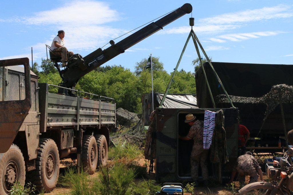 Action5-1024x682 7. Int. Militärfahrzeugtreffen der RAG 6014 vom 06. - 09.07.2017