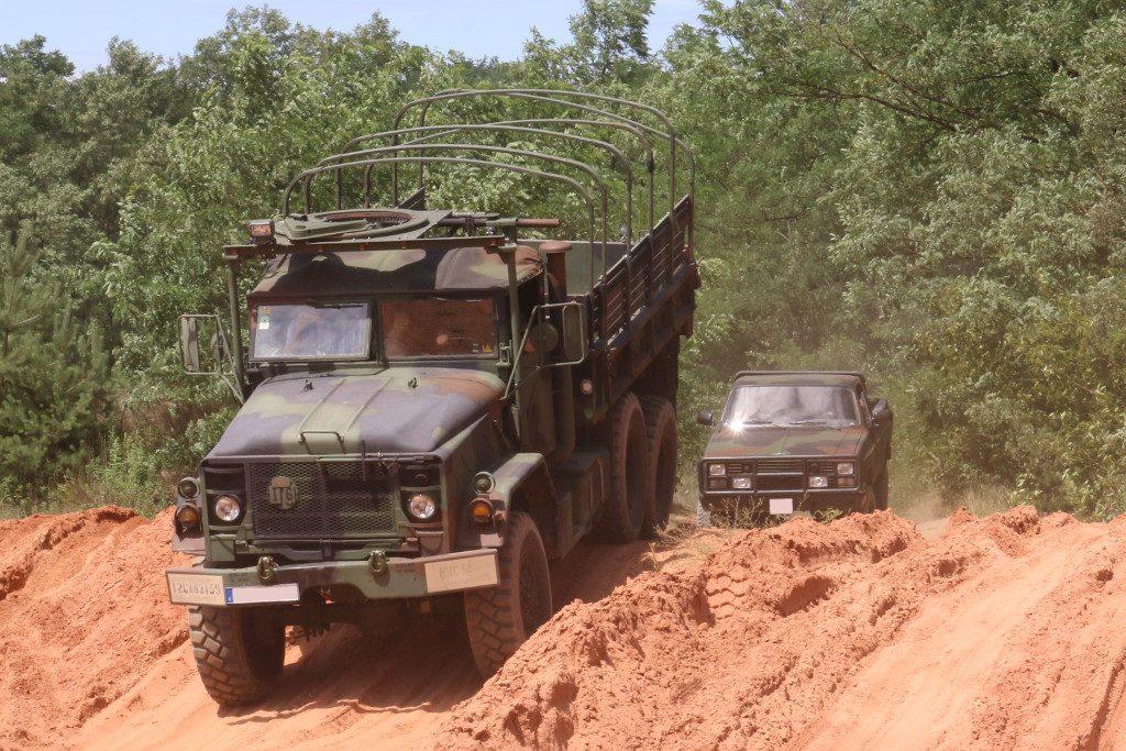 Action7-1024x683 7. Int. Militärfahrzeugtreffen der RAG 6014 vom 06. - 09.07.2017