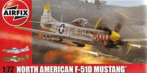 F-51D Mustang in 1:72 von Airfix A02047