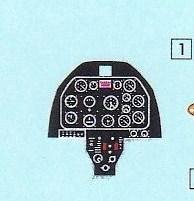 Airfix-A02047-F-51D-Mustang-Instrumentendecal F-51D Mustang in 1:72 von Airfix A02047