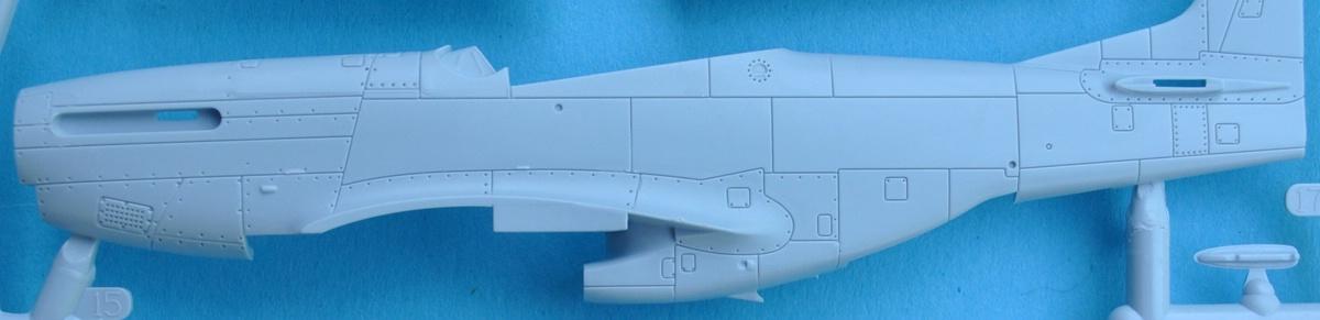 Airfix-A02047-F-51D-Mustang-Rumpfgravuren F-51D Mustang in 1:72 von Airfix A02047